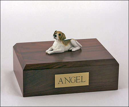 Dog, Beagle - Figurine Urn