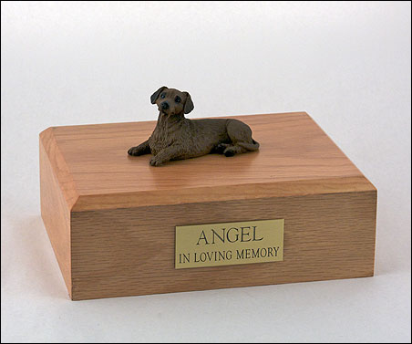Dog, Dachshund, Red - Figurine Urn