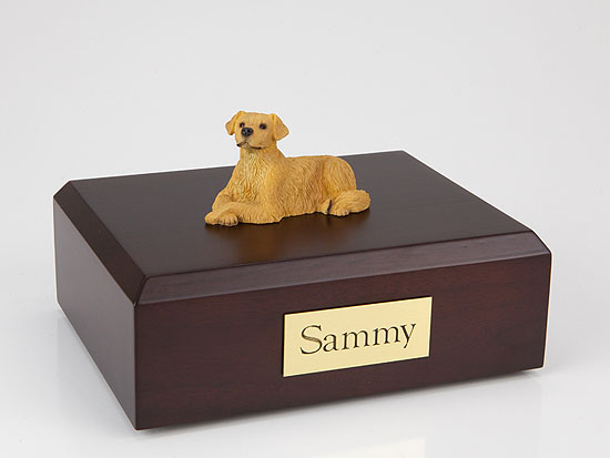 Dog, Golden Retriever - Figurine Urn