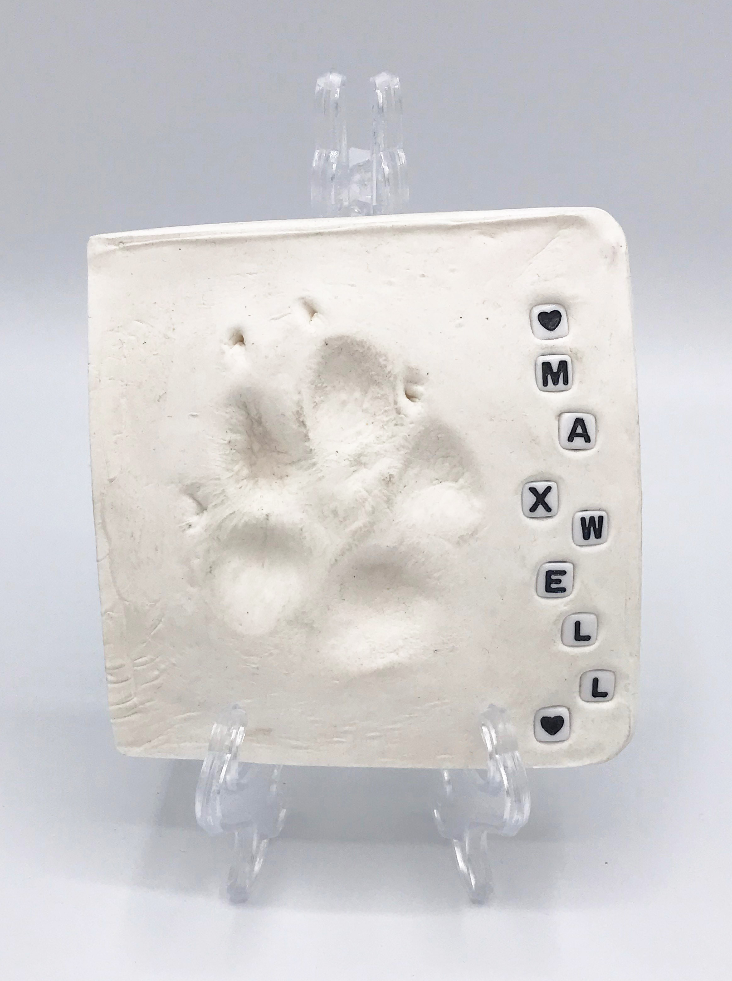 Paw Print Clay