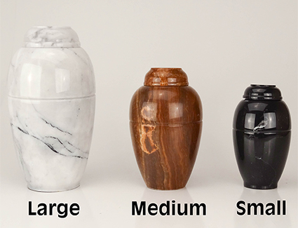 Marble Vase Series - Small (no base)