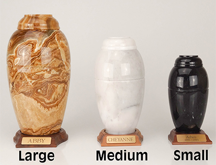 Marble Vase Series - Small (with base)