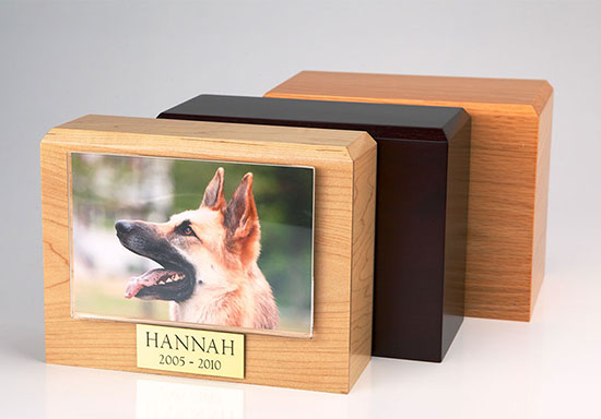 Photo Urn - XLarge - 4 x 6 photo holder