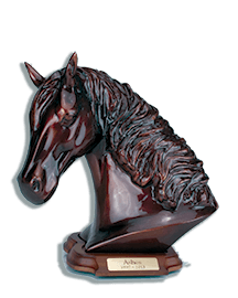 Horse Keepsake Urn w/base