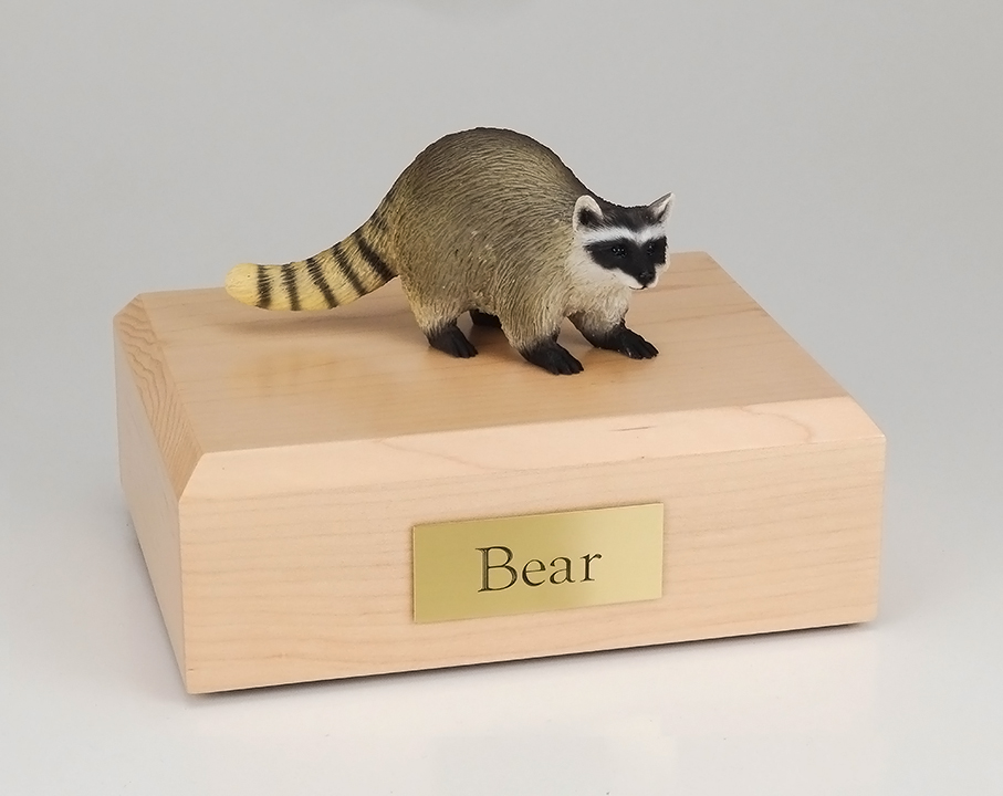 Raccoon - Figurine Urn