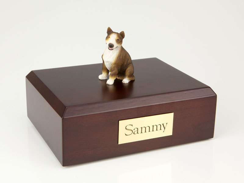 Dog, Bull Terrier, Brindle - Figurine Urn