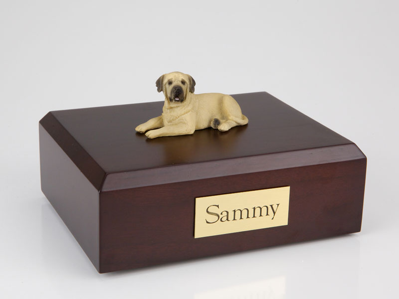 Dog, Mastiff - Figurine Urn