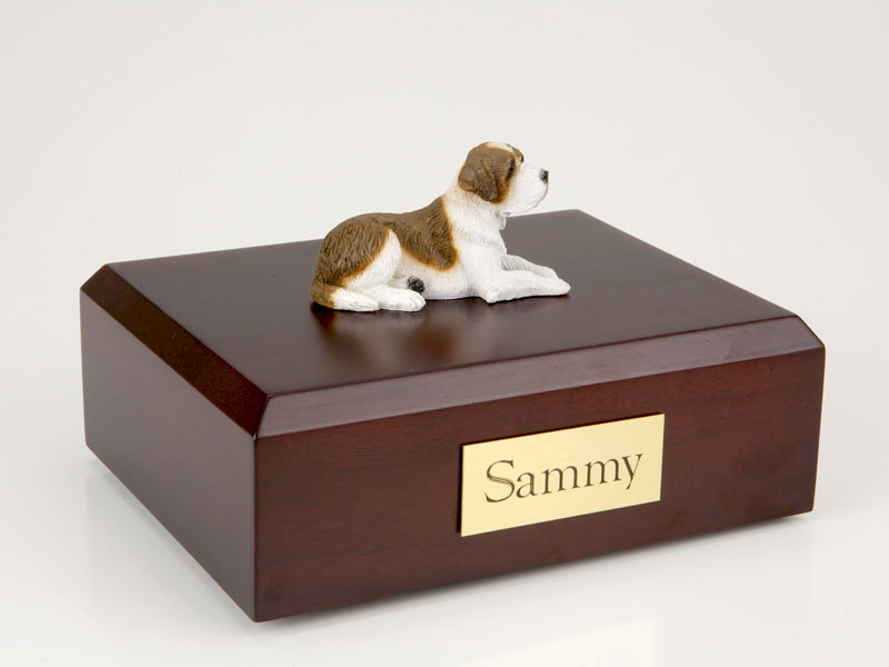 Dog, Saint Bernard - Figurine Urn