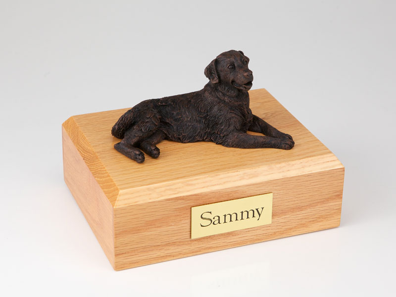 Dog, Golden Retriever, Bronze - Figurine Urn