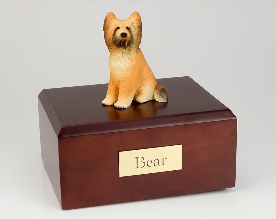 Dog, Briard - Figurine Urn