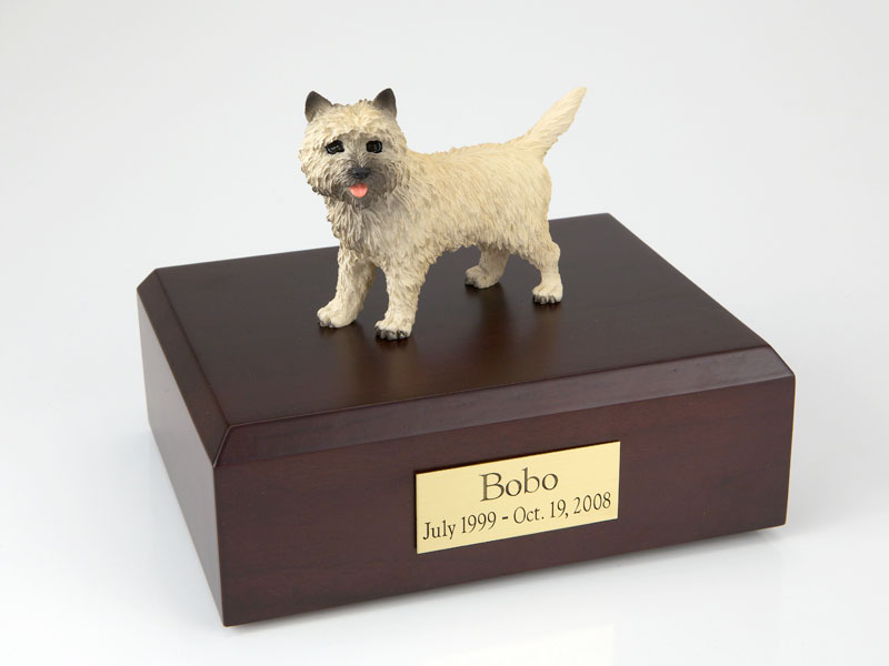 Dog, Cairn Terrier - Figurine Urn