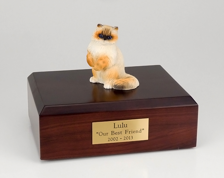 Cat, Ragdoll - Figurine Urn