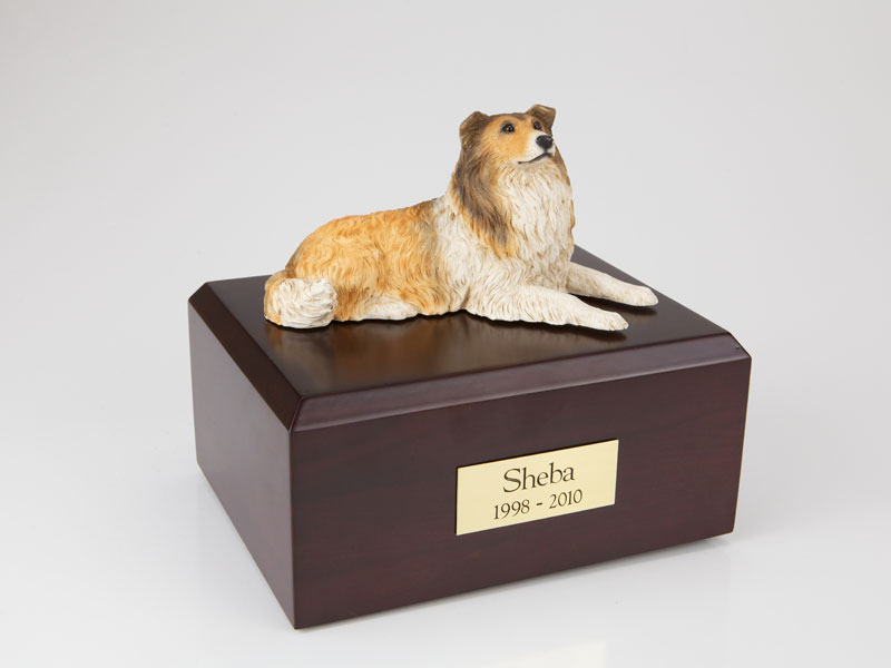 Dog, Collie - Figurine Urn