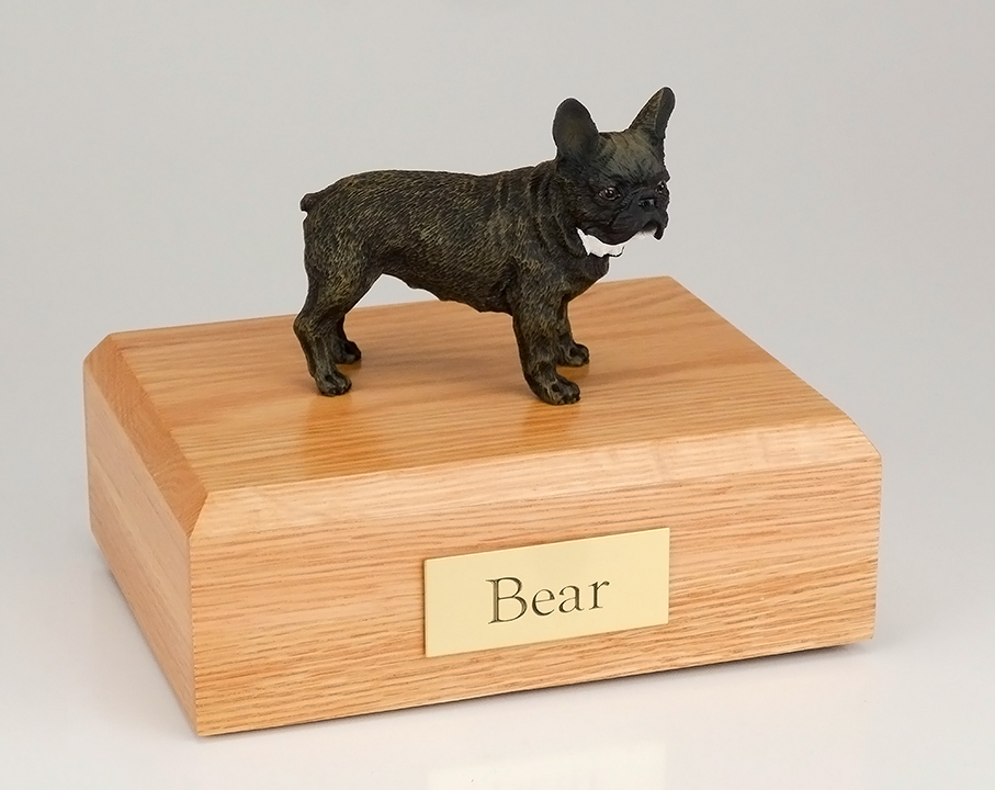 Dog, French Bull - Figurine Urn