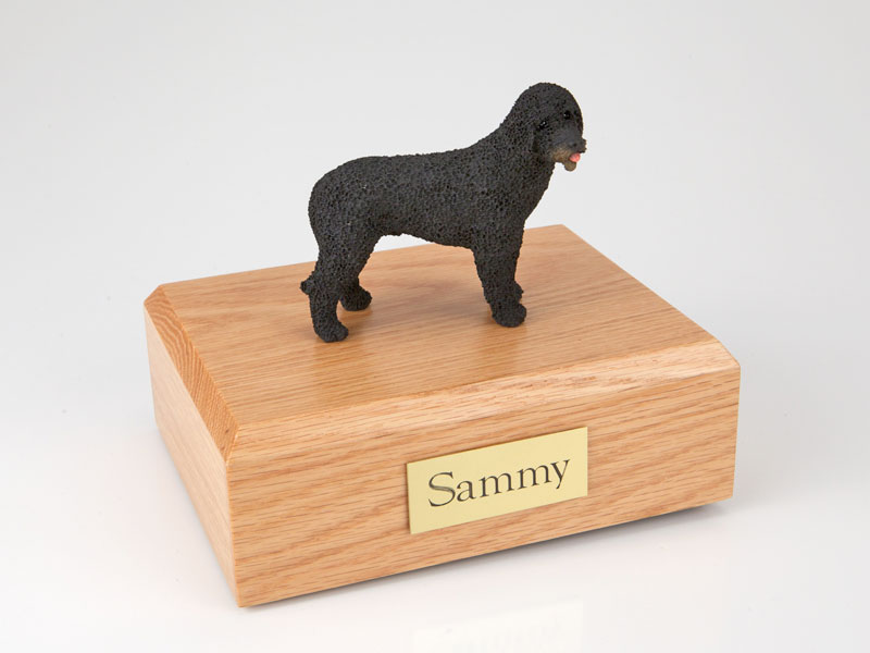 Dog, Portuguese Water Dog - Figurine Urn