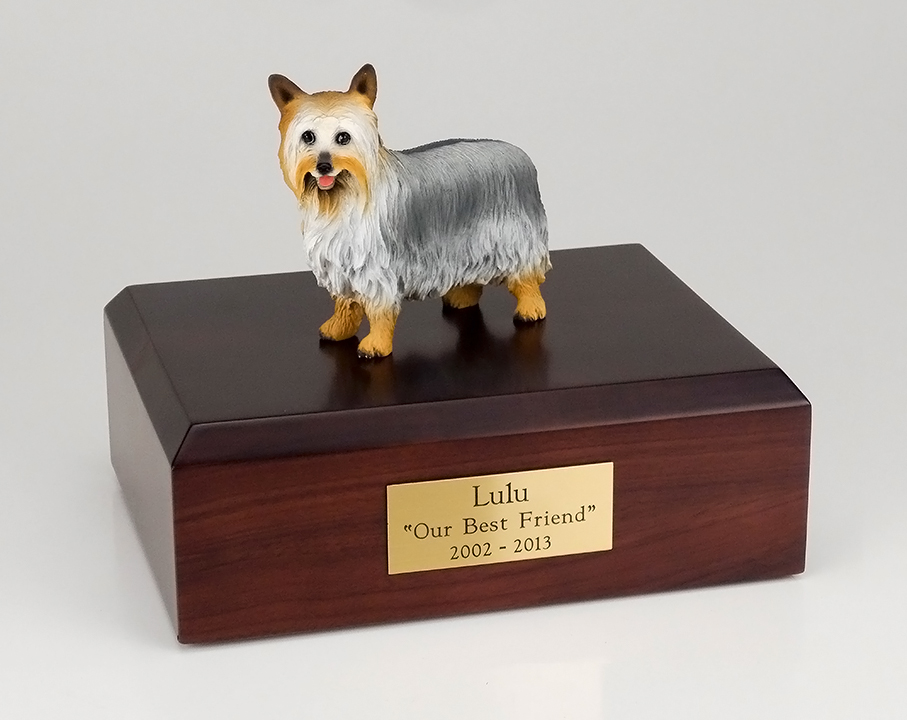 Dog, Silky Terrier - Figurine Urn